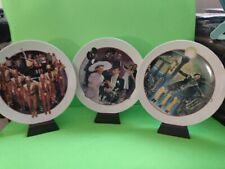 Lot Of 3 Avon Images Of Hollywood Porcelinc Collector Plates W Musical Stand