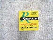 Vintage Empty Ammo Box Remington Power Piston Skeet Loads 28 Ga. Made In Usa