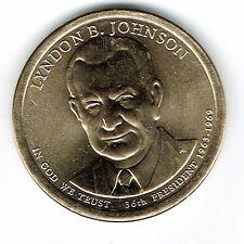 2015-D $1 Brilliant Uncirculated 36TH President LBJ Dollar Coin!