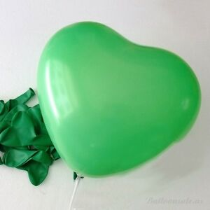 """1-250pc 12"""" 10 Color Heart Shape Latex Balloons Wedding Party Decoration Helium"""