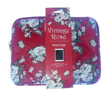 VINTAGE ROSA Apple Caso IPAD (2, 3, 4 & iPad Air)