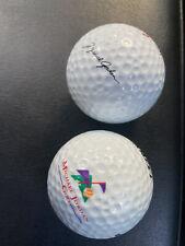 Set Of 3 Vintage Michael Jordan Golf - Ultra Golf Balls w/ facsimile signature