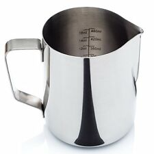 Milk Frothing Pitcher Espresso Maker Cappuccino Maker 20 Onces Professional NEW