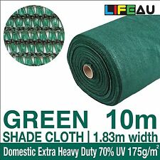70 UV BLACK Shadecloth 1.83m x 10m Domestic Heavy Duty Shade Cloth 1.83 x 10m