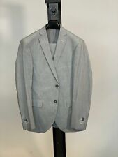 European Design Grey Linen Suit