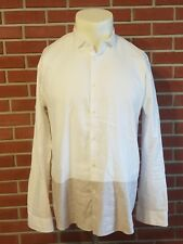 Scotch & Soda Long Sleeve Button Front Summer Shirt Mens Size XXL (2XL) Regular
