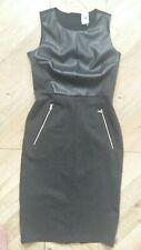 Gap Women Black Bodycon Shift Dress Pockets Size S New