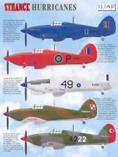 Iliad Decals 1/48 STRANGE HURRICANES British Hawker Hurricane Fighter