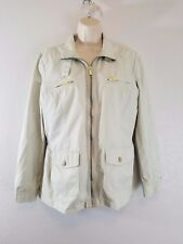 Tommy Hilfiger Women Jacket Beige Large size