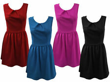 Textured Sleeveless Dresses for Women