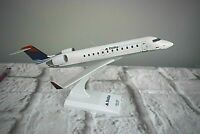 Sky Marks Delta Connection CRJ-200 Airplane Desk Top Model 1:100 Scale SEE COND