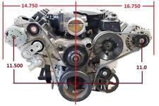 2014 to 2019 Gm Gen V Lt1 Lt4 L83 L86 Alternator Power steering with Ac bracket