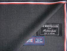 100% SUPER 120's Lana Worsted Suiting Tessuto fatta a Huddersfield Inghilterra – 3.4 M