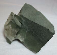 Othoclase var. Andularia with Chlorite Coating from Switzerland - 700 grams
