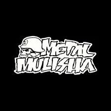 """Truck Car Window Vinyl Decal Sticker Metal Mulisha 3.75"""" x 8"""""""