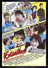 SIXTEEN 16 CANDLES ✯ CineMasterpieces UK ORIGINAL MOVIE POSTER ROLLED RARE 1984