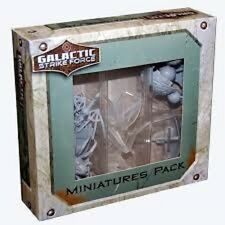 GALACTIC STRIKE FORCE MINIATURES EXPANSION PACK 1 BRAND NEW & SEALED CHEAP!!