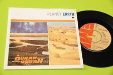 "DURAN DURAN 7"" PLANET EARTH ORIG ITALY 1981 MINT ! PRIMO DISCO DEBUT ! RARISSIMO"