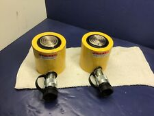ENERPAC RCS-201, 20 TON, PORTABLE HYDRAULIC LOW PROFILE CYLINDER