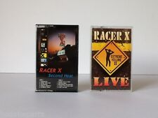 2 Cassettes ☆ RACER X ☆ SECOND HEAT ☆ LIVE EXTREME VOLUME II ☆ TESTED Tapes