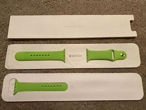 Genuine Apple Watch Strap - 42mm Green Sport Band