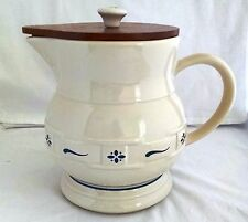 Longaberger Usa Woven Traditions Heritage Blue Pitcher 64 Ounces