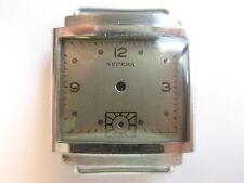 Supera 40's N.O.S. vintage men's watch case & dial ~ mod IV