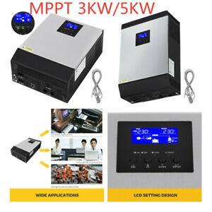 3000/5000VA MPPT Pure Sine Wave Solar Inverter Low Cost Solar Controller 24V/48V