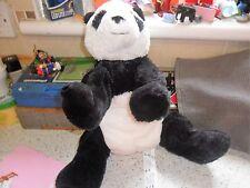 IKEA Kramig / Panda Plush Toy - Length 30cm - Used/Played With
