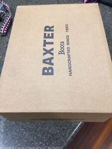 Baxter Boots ~ Drover Black UK 12/US 13/euro 45
