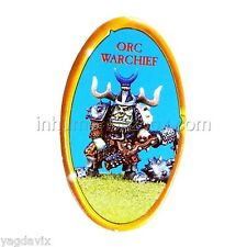 AHC03 PION ORC WARCHIEF COUNTER ADVANCED HEROQUEST WARHAMMER BITZ