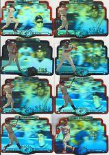 1996 SPX BASEBALL STARS 12-CARD GWYNN / JONES / MOLITOR PLUS MORE....