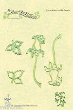 LEA 'bilities couper et gaufrage PATRON Pochoir - Roses - LEANE 003