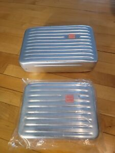 2 Vintage ll bean markill Germany aluminum  food containers ?  What is it?