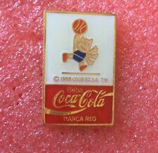 Pins coca cola barcelona olympics mascot basketball olympic games j.o.
