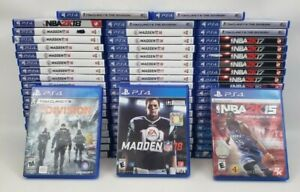 PS4 GAMES - HUGE SELECTION - PRE-OWNED - FREE SHIPPING - BUNDLE & SAVE