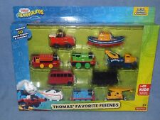 Thomas the Tank Engine Take N Play Gift Conjunto de 10 amigos favorito, Nuevo Y En Caja