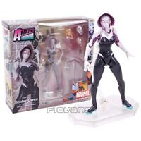 Revoltech Series NO.004 Spider Gwen Stacy PVC Action Figure Collectible Toy 15cm