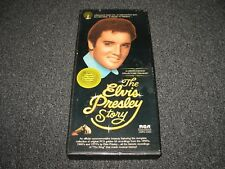 The Elvis Presley Story 3 Cassette  Box Set RCA DMK3 0263