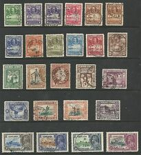 SIERRA LEONE 1932-35 GV SELECTION FINE USED CAT £166,SEE SCAN
