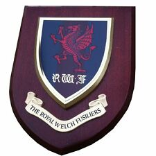 Royal Welch Fusiliers Military Wall Plaque RWF