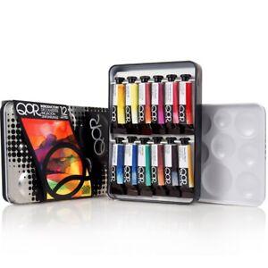 QoR Watercolor Introductory Color Set of 12
