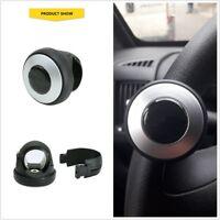Black Auto Car Power Steering Wheel Ball Grip Spinner Knob Handle Booster