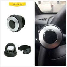 Black Auto Car Power Steering Wheel Ball Grip Spinner Knob Handle Booster