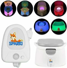 Sparki Night Light for Potty Seat, Potty Chair LED Night Light for Training