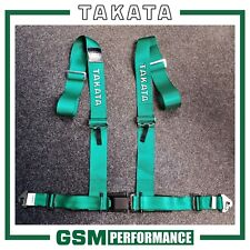 GENUINE TAKATA DRIFT III / BOLT ON / 4 POINT / 70003-H2