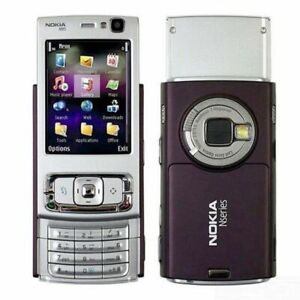 Nokia N95 - Purple color Worldwide Unlocked 5MP Camera Slider Retro Smartphone