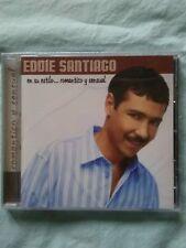En Su Estilo Romantico y Sensual by EDDIE SANTIAGO (CD, Aug-2006, Musical...
