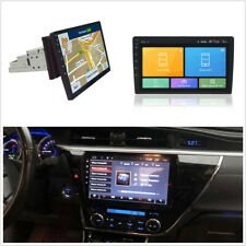 "Touch Screen 10.1""Single Din Quad-Core Rotatable Android 8.1 Car GPS Wifi BT DAB"