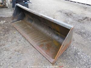 "HLA 84"" High Volume Quick Connect Bucket Attachment For Skid Steer bidadoo"